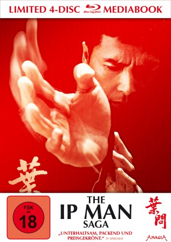 The Ip Man Saga - Limitiertes 4-Disc-Mediabook
