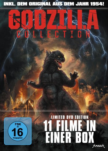 Godzilla Collection - Limited DVD Softbox LTD. - LTD.