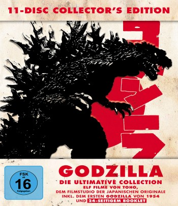 Godzilla 11-Disc Collector's Edition - LTD.