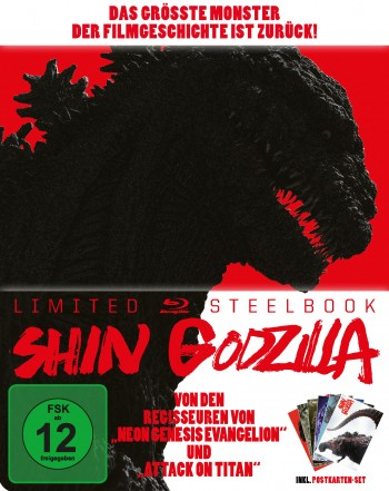 Shin Godzilla - Limited SteelBook® Edition