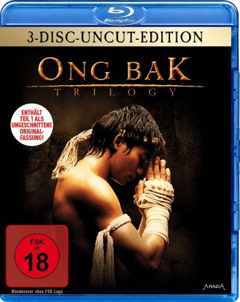 Ong Bak Trilogy - 3-Disc-Uncut-Edition